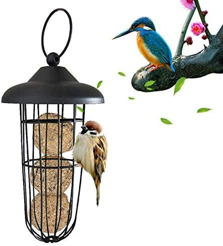 bowlder Vogelfutterautomat Automatischer Vogelfutterautomat für den Außenbereich. Hochwertiger Metalltragender Vogelfutterautomat