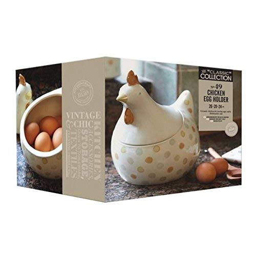 Kitchen Craft - Huevera en Forma de gallina (30 x 25 cm): Amazon ...
