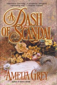 book cover of A Dash of Scandal