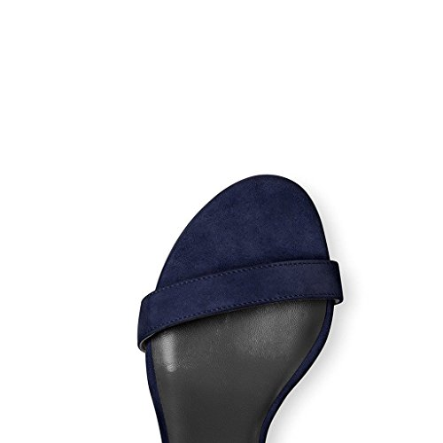 Mujer tobillo EDEFS de azul marino Tira 8wvWx71Bq