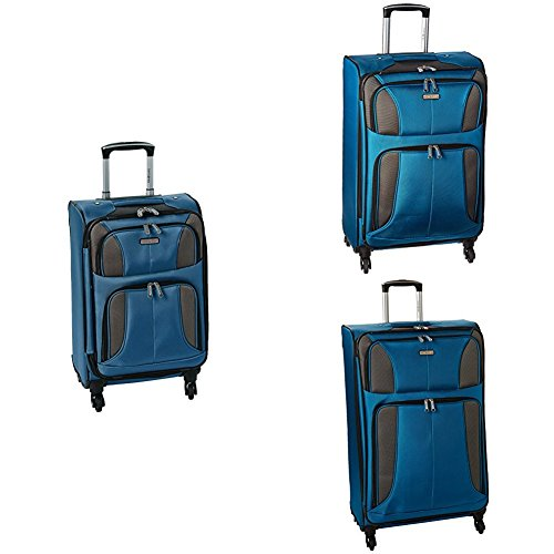 "Samsonite Aspire Xlite Three-Piece Spinner Set (20""/25""/29""), Blue Dream"