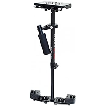 """FLYCAM HD-3000 24""""/60cm Micro Balancing Handheld Steadycam Stabilizer for DV HDV DSLR Video Cameras up to 3.5kg/8lbs + FREE Table Clamp & Quick Release Plate (FLCM-HD-3-QT)"""