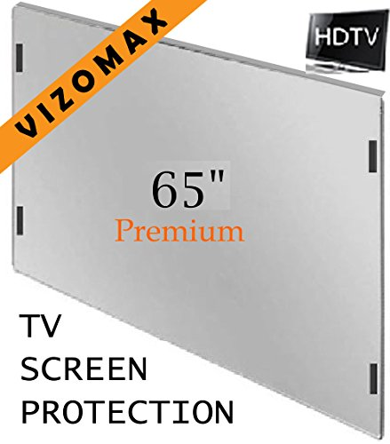 Screen Hdtv (65 inch Vizomax TV Screen Protector for LCD, LED & Plasma HDTV)