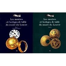 MONTRES ET  HORLOGES DE TABLES DU MUSÉE DU LOUVRE (COFFRET)