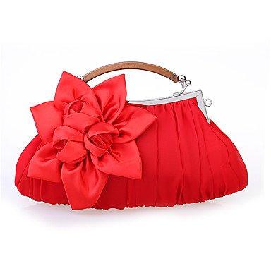 Violet KYS Rouge Blanc Décontracté Kaki soirée Gris RED Sac Soie Fête Femme Satin de Rose de Mousseline Noir Mariage Soirée rw6fqZr