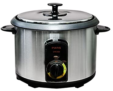 Pars Automatic Persian Rice Cooker : Becareful, the size is really small. So if