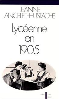 Lycéenne en 1905 par Jeanne Ancelet-Hustache