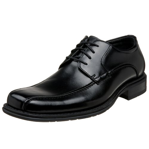 G.H. Bass & Co. Men's Albany Oxford,Black Range Calf,11.5 D US Mens Albany Shoe