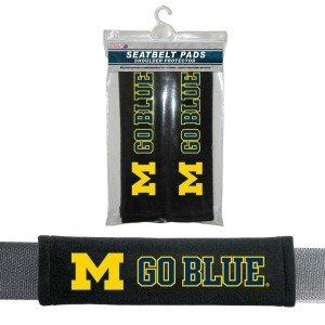 Michigan Messenger (Michigan Wolverines Velour Seat Belt Pads)