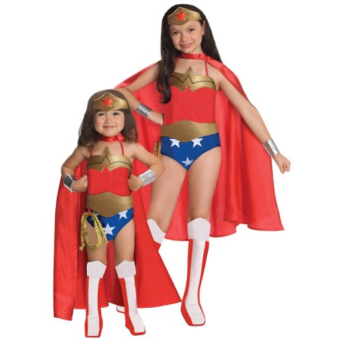 Girl Villain Costume Ideas (Rubies DC Super Heroes Collection Deluxe Wonder Woman Costume,)