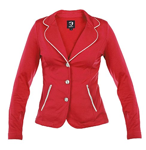 Jacket Horka Red Riding Junior Lightweight Competition Stretch SoftShell Strass PU0zwvqP