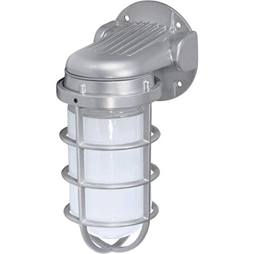 (Nuvo Lighting SF76/620 One Light Vapor Proof Outdoor Wall Mount, 11