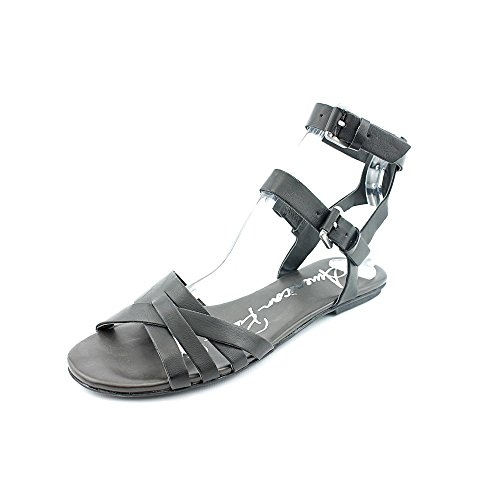 Strap Rag Black Tara American Sandals Womens Casual Ankle Toe Open F0qHgS