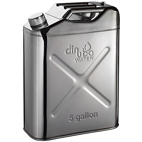 Dinuba Water 5 Gallon Stainless Steel Jerry Can
