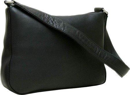 le-donne-leather-top-zip-handbag-black