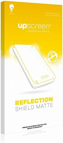 upscreen. Reflection Shield Matte Screen Protector for Nextbase 122 Matte and Anti-Glare Strong Scratch Protection Multitouch Optimized