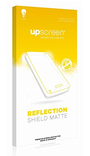 upscreen Reflection Shield Matte Screen Protector for Prestigio Wize O3, Matte and Anti-Glare, Strong Scratch Protection, Multitouch optimized