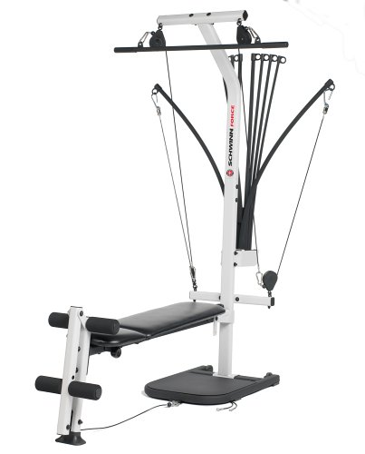 amazon com schwinn force home gym by bowflex sports outdoors rh amazon com Schwinn Comp Home Gym Manual Schwinn Force Exercise Machine