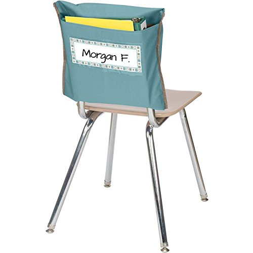 Store More Deep-Pocket Chair Pockets - Medium Blue
