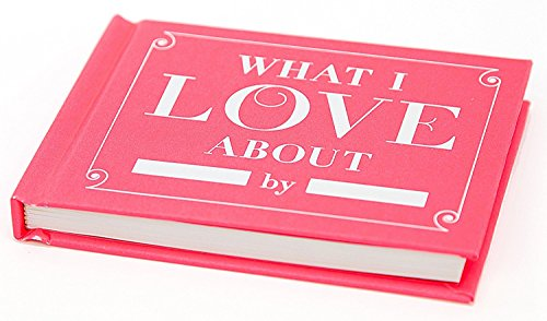 Large Product Image of Knock Knock What I Love about You Fill in the Love Book Fill-in-the-Blank Gift Journal