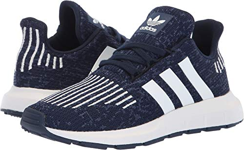 adidas Originals Unisex Swift Running Shoe, Collegiate Navy/White/Mystery Blue, 13.5K M US Little Kid