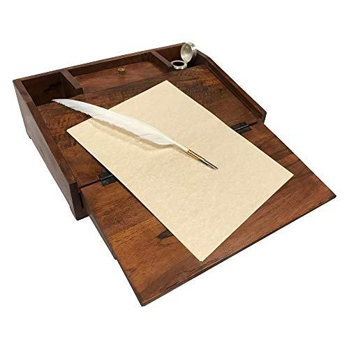 Buy teak desk organizer