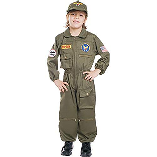 Dress Up America Air Force Pilot- Small 4-6