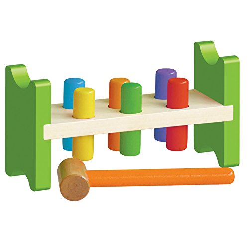 Classic Wooden Pound A Peg Toy by Original Toy