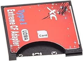 SD adaptador de tarjeta CF - TOOGOO(R) Nueva WIFI SD SDHC SDXC de 2 TB Tipo I Tarjeta Compact Flash Adaptador CF