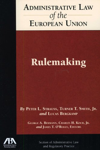 Download Administrative Law of the EU: Rulemaking pdf epub