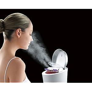 Panasonic Beauty Salon Type Steamer Nano Care / W Hot and Cold Pink Eh-sa96-p (Japanese Manual)