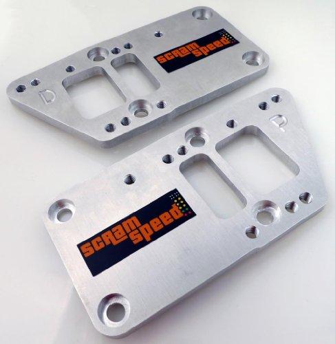 Scram Speed LSX500 GM LS to 3-Bolt Chevy Motor Mount Engine Swap Adapter Plates
