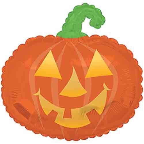 CTI Foil Balloon 434112R Happy Pumpkin, 22