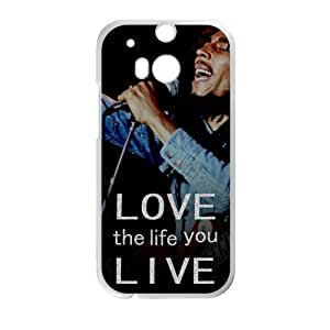 Love the life you live Custom Case for HTC One M8 (Laser Technology)