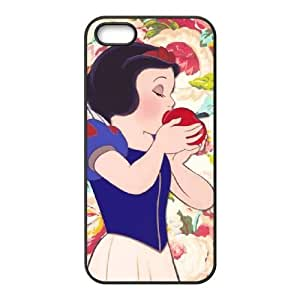 Disney Snow White And The Seven Dwarfs Character iPhone 4 4s Cell Phone Case Black y2e18-350600