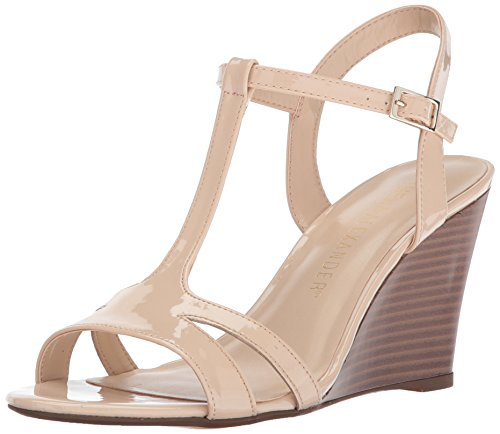 Athena Alexander Womens Andres Andres Nude Patent