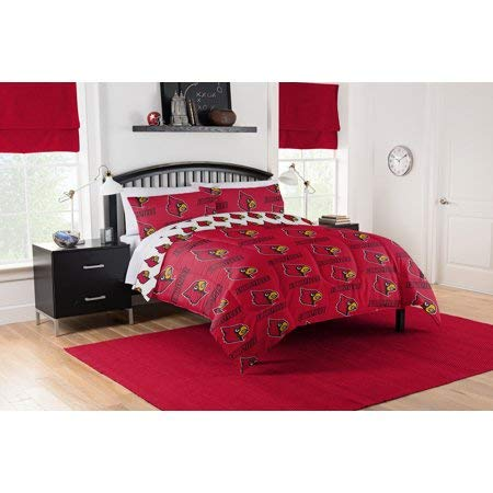 - Official Louisville Cardinals Queen Bed in Bag Set