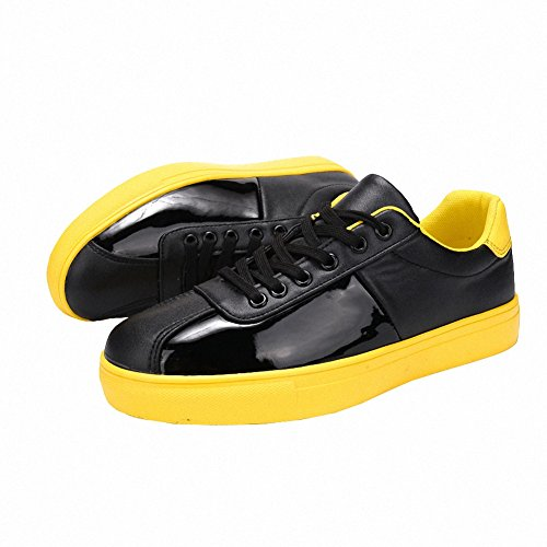 Ben Sports Hombre Calzado de skateboarding para hombre de Gimnasia deportivo para hombre Amarillo