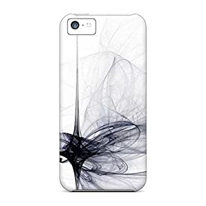 Hard Plastic Iphone 5c Case Back Cover,hot Geometric Wisps Case At Perfect Diy