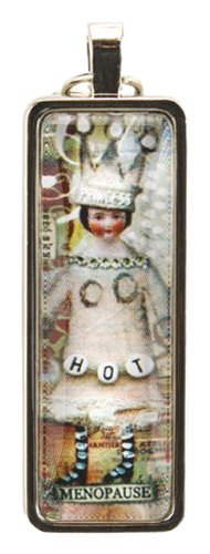 - Santa Barbara Design Studio Stix Rectangular Jewelry Charm by Artist Sally Jean, Mid-Life Princess
