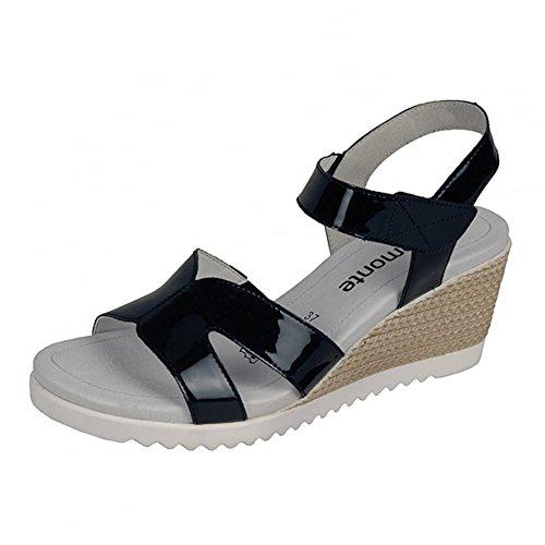 Remonte Dorndorf - Zapatos con correa de tobillo mujer azul marino
