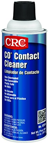 CRC CO Plastic Safe Liquid Contact Cleaner, 14 oz Aerosol Can