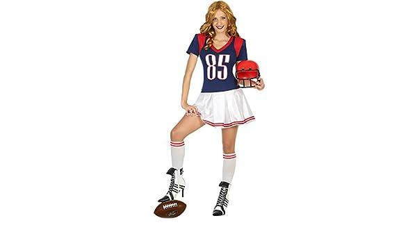 Dondisfraz Disfraz de Jugadora de Rugby para Mujer M/L: Amazon.es ...