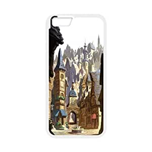 "Custom LiuXueFei Phone caseFairy Village & Cassle For Apple Iphone 6,4.7"" screen Cases -Style-8"