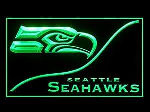 Amazon.com: Seattle Seahawks Cool Led Light Sign: Home ...