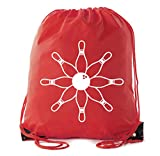 Mato & Hash Drawstring Bowling Bag | Bowling Cinch Bags for Leagues and Parties!