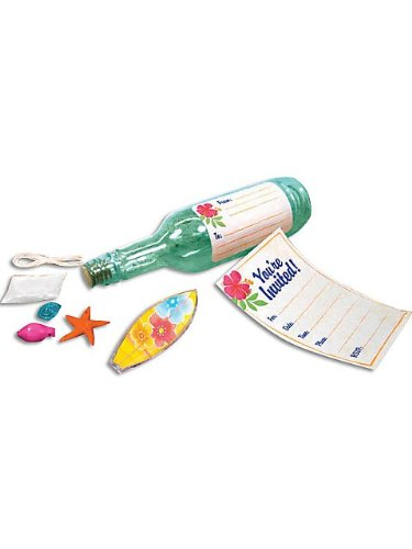Invitation Sun & Sand Bottle Kit (8 Count)