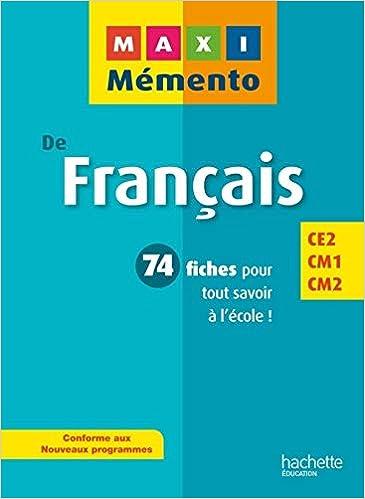 [DIAGRAM_34OR]  Amazon.com: MAXI MEMENTO - Français CE2-CM1-CM2 (Maxi Mémento)  (9782011604033): Blandino, Guy: Books | Ce2 Cm1 |  | Amazon.com