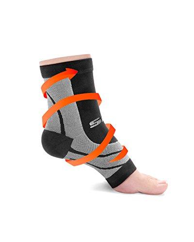 SLS3 Plantar Fasciitis Compression Socks | Plantar Fasciitis Support Brace | Arch Support Socks | Plantar Fasciitis Inserts (S)