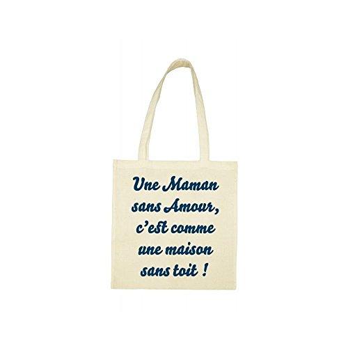 amour maman Tote beige bag sans 7x0qwaIUqn